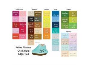 FARBE / INK / CHALKS ... Tiza bordeadora Conjunto de 4 colores
