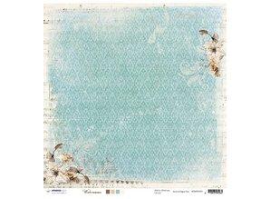 Designer Papier Scrapbooking: 30,5 x 30,5 cm Papier Designer Bow, 30.5 x 30.5cm Winter Memories
