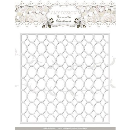 Amy Design Punching and embossing templates Grid