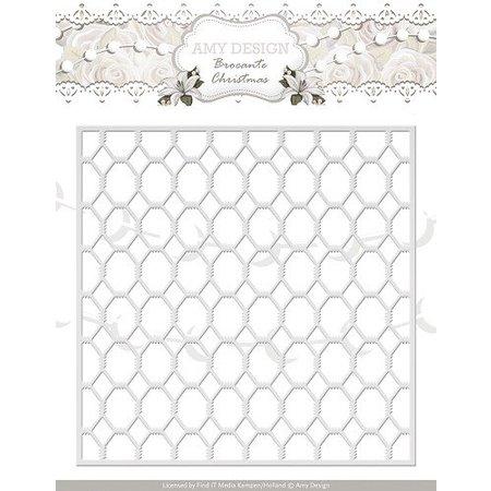 Amy Design Stanz- und Prägeschablonen, Gitter