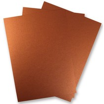 3 Blatt Metallic Papier