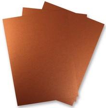 DESIGNER BLÖCKE  / DESIGNER PAPER 3 Leaf Metallic papir