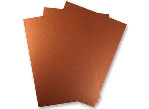 DESIGNER BLÖCKE  / DESIGNER PAPER 3 Leaf Metallic paper