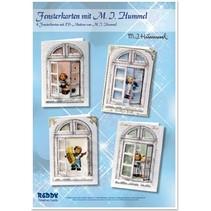 Bastelset: Fensterkarten, M.I.Hummel, Engelchen
