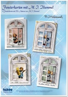Exlusiv Bastelset windows cards MIHummel, angel