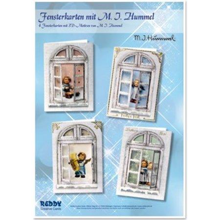 Exlusiv Bastelset: Fensterkarten, M.I.Hummel, Engelchen