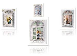 Exlusiv Bastelset windows cards MIHummel, angel