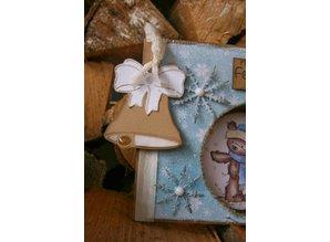 Joy!Crafts und JM Creation Cutting and embossing stencils, bell