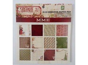 DESIGNER BLÖCKE  / DESIGNER PAPER Designer Block, Vintage Christmas