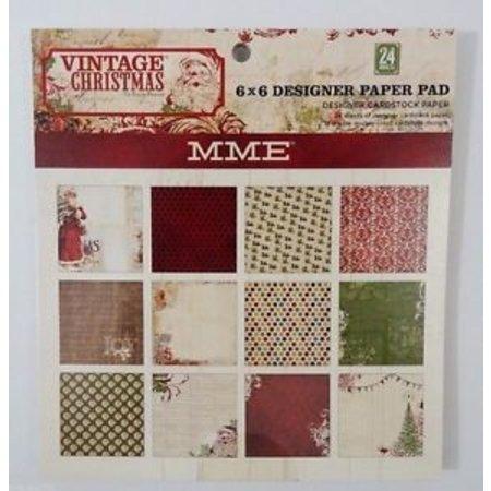 DESIGNER BLÖCKE  / DESIGNER PAPER Designer Block, Vintage julen