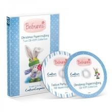 Crafter's Companion CD mit viele niedliche Weihnachtsmotiven