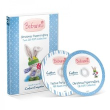 Crafter's Companion CD with many cute Christmas designs