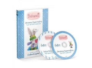 Crafter's Companion CD con muchos diseños lindos de Navidad