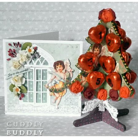 Objekten zum Dekorieren / objects for decorating 3D holze Weihnachtsbaum