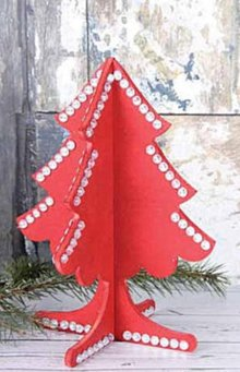 Objekten zum Dekorieren / objects for decorating 3D holze Christmas
