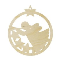 Wood to decorate Christmas decoration