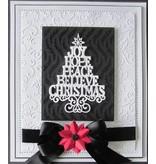 Creative Expressions Corte y estampado en relieve plantillas de Navidad