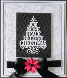 Creative Expressions Taglio e goffratura stencil Natale