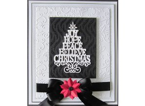 Creative Expressions Cutting and embossing stencils Christmas