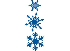 Creative Expressions Taglio e goffratura stencil, cristalli di ghiaccio 3