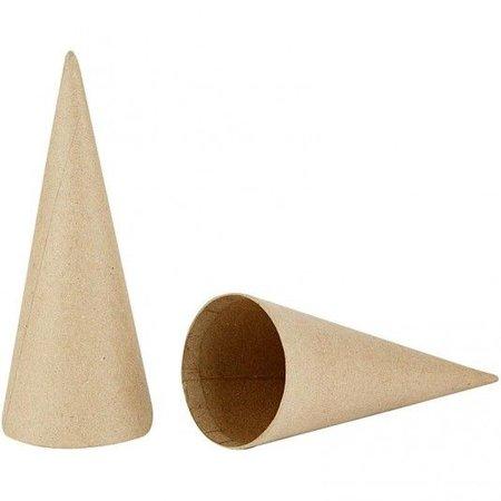 Objekten zum Dekorieren / objects for decorating Kegel, H: 20 cm, 1 Stück