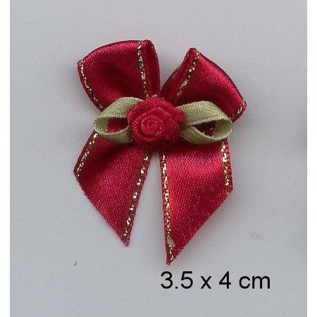 Embellishments / Verzierungen moler 3 mini lujo, rojo