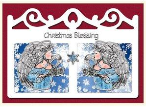 Exlusiv Bastelset: 4 Cartoline di Natale
