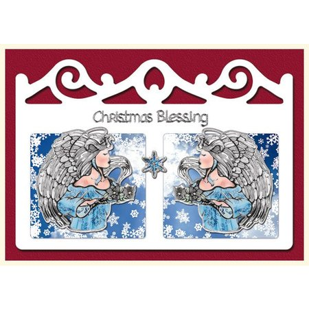Exlusiv Bastelset: für 4 Weihnachtskarten