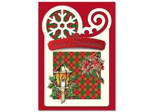 Exlusiv Bastelset: 4 Tarjetas de Navidad
