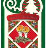 Exlusiv Bastelset: 4 Julekort