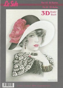 BILDER / PICTURES: Studio Light, Staf Wesenbeek, Willem Haenraets 3D Bastelbuch A4 per 60 carte, donne con il cappello