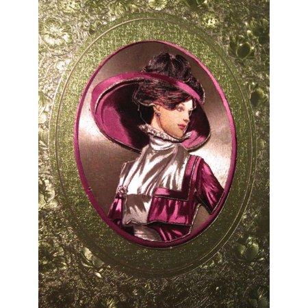 BILDER / PICTURES: Studio Light, Staf Wesenbeek, Willem Haenraets 3D Bogen in metallic, hübsche Damen Bilder mit und ohne Hut