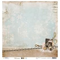 Designerbogen, 30,5 x 30,5cm Winter Memories Nr02