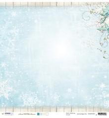 Designer Papier Scrapbooking: 30,5 x 30,5 cm Papier Designer Bow, 30,5 x 30,5 cm Winter Memories Nr04