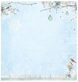 Designer Papier Scrapbooking: 30,5 x 30,5 cm Papier Designerbogen, 30,5 x 30,5cm Winter Memories Nr04