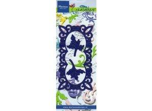 Marianne Design Corte y estampado en relieve plantillas, marco decorativo + 2 hojas