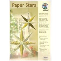"""Papir Stjerner, """"Lounge"""", der er fastsat for 6 Stjerner"""