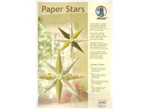 """Exlusiv Papir Stjerner, """"Lounge"""", der er fastsat for 6 Stjerner"""