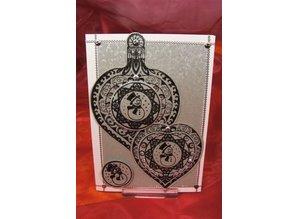 Viva Dekor und My paperworld Transparent stamps, 3D Christmas Ball Snowman