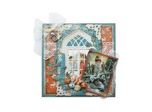 Marianne Design Stansning og prægning stencil vindue