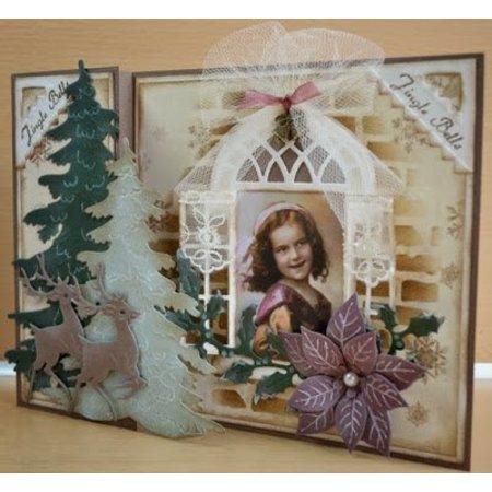 Marianne Design Punzonado y cliché de estampado ventana
