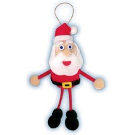 Kinder Bastelsets / Kids Craft Kits Bastelset: Set-Pompon Lucky Charms de Santa Claus