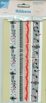 Joy!Crafts und JM Creation Decorative ribbons, 4 x 1 meters