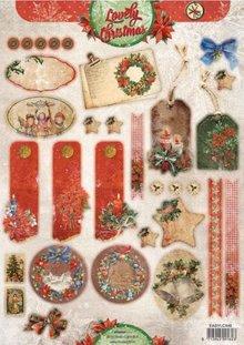 BILDER / PICTURES: Studio Light, Staf Wesenbeek, Willem Haenraets A4 cut sheets, VintageLine Christmas labels / Trailers Studio Light