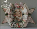 BILDER / PICTURES: Studio Light, Staf Wesenbeek, Willem Haenraets 3D die cut ark A4, Shabby chic, jul etiketter / Trailere Studio Light