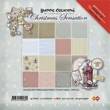 DESIGNER BLÖCKE  / DESIGNER PAPER Yvonne Creations - Paper Pack - Christmas Sensation