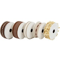 5 decorative ribbons