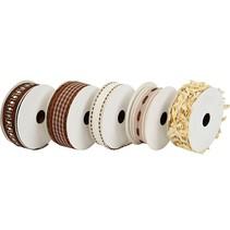 5 dekorative bånd
