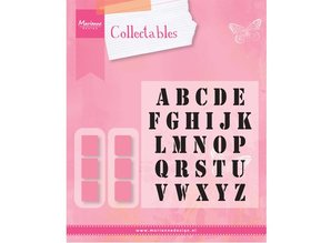 Marianne Design Cutting and embossing stencils Marianne Design, Collectable Stamp alfabet