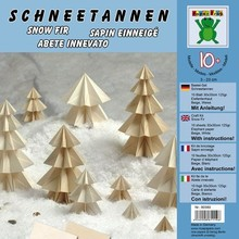 BILDER / PICTURES: Studio Light, Staf Wesenbeek, Willem Haenraets Bastelset: Snow fir 10 sheets 30x30cm 125g / m² Elefantenhaut